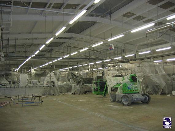 KefaRid Sanierung - Industriehalle